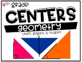 4th Grade Math Centers Geometry