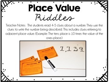 4th Grade Math Centers {Number and Operations: Base Ten}