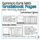 4th Grade Math Common Core Gradebook Pages **EDITABLE**