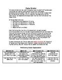 4th Grade Math Common Core Student Data Binder