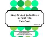 4th Grade Math Common Core Task Cards (4.NBT)