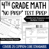 "4th Grade Math Test Prep - ""No Prep"" Test Prep for Fourth Grade"