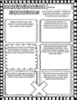 4th Grade Math Concept Posters 4.OA.1 4.OA.2 4.OA.3 4.OA.4 4.OA.5 Prime Factors