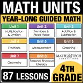 4th Grade Math Curriculum - 4th Grade Guided Math Units -