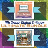 4th Grade Math Curriculum Bundle ⭐ Digital and Paper Bundle ⭐ Google and PDF