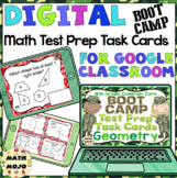 4th Grade Math Digital Task Cards: 4th Grade Test Prep Boot Camp (G Standards)