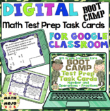 4th Grade Math Digital Task Cards: 4th Grade Test Prep Boot Camp (NF Standards)