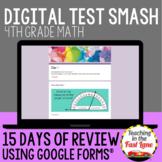 4th Grade Math Digital Test Prep: Test Smash