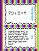 4th Grade Math Dividing by One Digit Divisors Scavenger Hunt