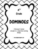 4th Grade Math Dominoes