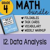 Math Doodle - 4th Grade Math Doodles Bundle 12. Data Analysis