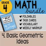 Math Doodle - 4th Grade Math Doodles Bundle 4. Basic Geometric Ideas