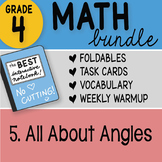 Math Doodle - 4th Grade Math Doodles Bundle 5. All About Angles