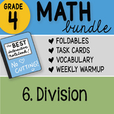 Math Doodle - 4th Grade Math Doodles Bundle 6. Division