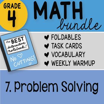 Doodle Notes - 4th Grade Math Doodles Bundle 7. Problem Solving