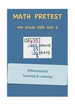 Everyday Math 4th Grade Unit 6 Pretest