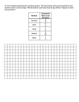 4th Grade Math End of Year Cumulative Practice State Assessment *All Standards*