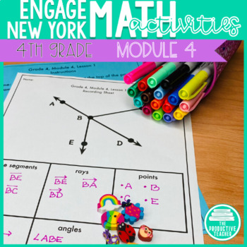 4th Grade Math Engage New York Aligned Activities: Module 4