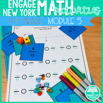 4th Grade Math Engage New York Aligned Activities: Module 5