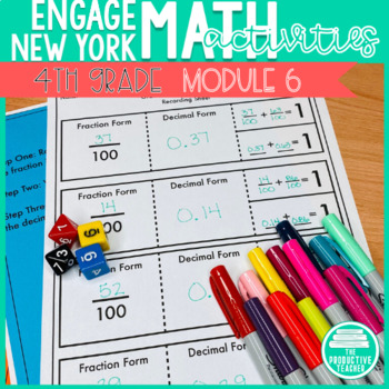 4th Grade Math Engage New York Aligned Activities: Module 6