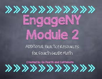 4th Grade Math EngageNY Eureka Math Additional Resources-Module 2