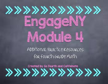 4th Grade Math EngageNY Eureka Math Additional Resources-Module 4