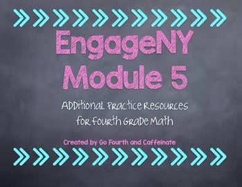 4th Grade Math EngageNY Eureka Math Additional Resources-Module 5