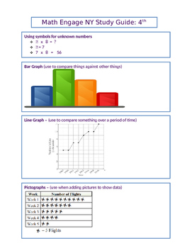 4th Grade Math EngageNY Standards Assessment NYS Study Guide