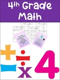 Everyday Math 4th Grade Unit 5 Exit Tickets