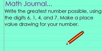 4th Grade Math Expressions Unit 1: Lesson 2