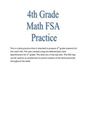 4th Grade Math FSA Practice Week 3