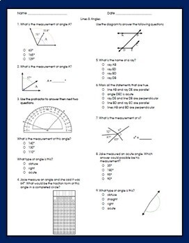 4th Grade Math FSA Review