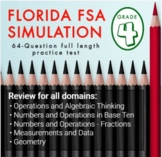 4th Grade Math FSA Simulation: Practice FSA Test   FSA Rev