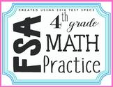 4th Grade Math FSA Test Spec Task Cards Review/ Test Prep