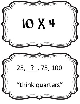 4th Grade Math FastFlips