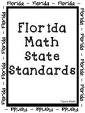 4th Grade Math Florida NEW Standards