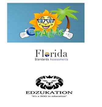 4th Grade Math Florida Standards Assessment FSA Study Guide