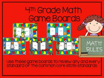 4th Grade Math Game Board Reviews