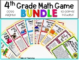 4th Grade Math Game Bundle: CCSS: File Folder Games