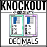 4th Grade Math Game [DECIMALS KNOCKOUT]