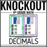 4th Grade Math Game [DECIMALS KNOCKOUT]