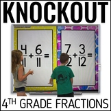 4th Grade Math Game [FRACTION KNOCKOUT]
