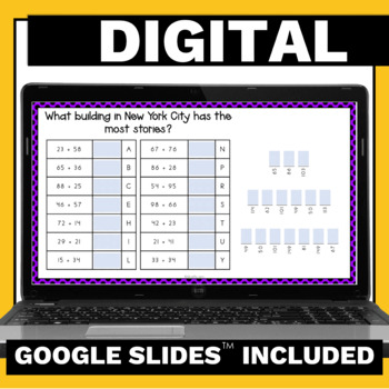 4th Grade Math Games - Addition Subtraction Multiplication and Division No Prep
