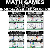 4th Grade Math Games - Addition Subtraction Multiplication