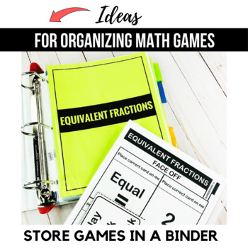 4th Grade Math Games and Centers BUNDLE - Ready Set Play