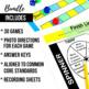 4th Grade Math Centers | 4th Grade Math Games BUNDLE - Ready Set Play
