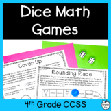 4th Grade No Prep Math Games ~ Place Value, Add, Subtract, Multiply, Divide