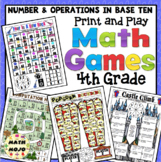 4th Grade Math Games: Number and Operations in Base Ten