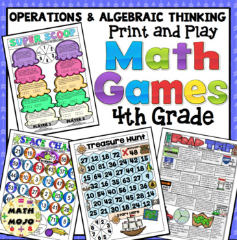 4th Grade Math Games: Operations and Algebraic Thinking