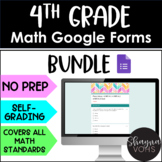4th Grade Math Google Forms for Google Classroom